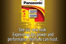 Panasonic Lithium Batteries / Panasonic lithium batteries offer exceptional power and performance! Panasonic lithium batteries are a lightweight and durable power source. They perform well in extreme temperatures and have a 10 year shelf life.