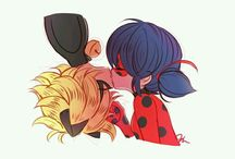 Miraculous Chat Noir and LadyBug