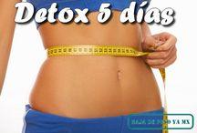 dieta desintoxicamte