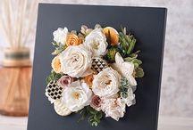 khung ảnh hoa