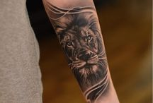 Lejon tatto