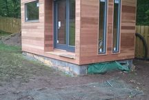 Fabulous Feedback on Outdoor Office Project Scotland / My wife and I would like to convey our thanks for a lovely office…we are impressed with style and quality of the building. We were also very impressed with your representatives - Stuart, Chris and Lee. We have had considerable recent experience of builders and can see that the quality of their workmanship is the very highest. Not only that but they were a pleasure to have stay with us.  Once the building is finished and landscaped we will take some photos and send them to you.   Mr & Mrs Wood