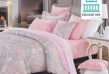 Overcast Pink Twin XL Comforter Set / Overcast Pink Twin XL Comforter Set