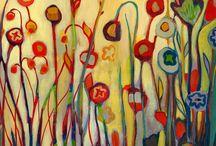 Natur / Træer,marker,blomster