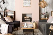 Pastels / Pastel shades mixed in a subtle way is a current design trend