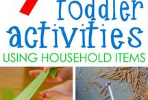 Toddler Activities / Toddlers are full of energy and have a natural curiosity to try new things. Keep them busy and engaged with these arts and crafts for toddlers - sensory play ideas - pretend play games - fun learning activities - fine motor skills play and more.
