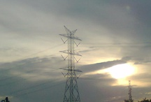 Pictography  / Sunset cross the city