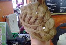 Elena Robete / Hair styles