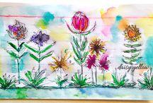 Index Card Art Ideas