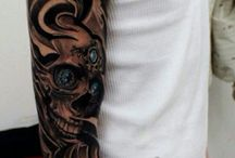 rękaw tattoo