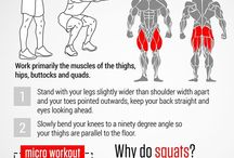 Workouts / A few of our favorite workouts to shake things up.
