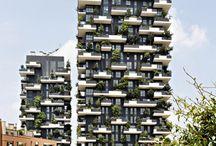"""Kiến trúc xanh - thiết kế chung cư xanh giữa thành phố hiện đại / Kiến trúc xanh - thiết kế chung cư xanh giữa thành phố hiện đại,  một dự án để """"trồng rừng"""" đô thị, góp phần cho sự tái sinh của môi trường, đa dạng sinh học đô thị, cải thiện không khí. http://vietnamarch.com/thiet-ke-kien-truc/thiet-ke-nha-cao-tang/item/164-thiet-ke-chung-cu-xanh-giua-thanh-pho-hien-dai.html"""