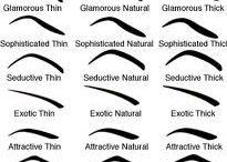 Eye brow shapes