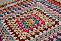 Giant granny blankets