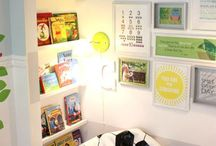 House Inspiration - Kids Reading Nook