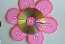 Arte com cds usados