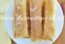 desserts and bread recipes / by Stephanie Soto