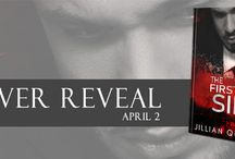 Cover Reveal & Giveaway for The First Sin by Jillian Quinn