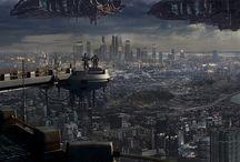 scifi landscapes