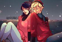 Marinette+Adrien LB+CN // Miraculous Ladybug