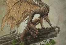 Dragones - ilustraciones