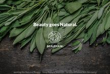 Beauty goes Natural / Beaudiani is always interested in various forms of  life around us and will seek the healthy and natural beauty not from the chemical formula but from Nature.