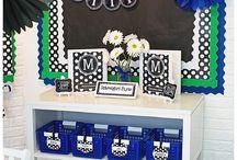 Chalkboard Theme Classroom