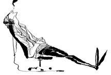 pose: sitting