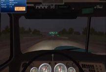 A vida de um caminhoneiro