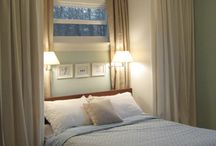 Une petite chambre / Clever space ideas for small double bedrooms