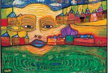Hundertwasser / Werk van Hundertwasser.