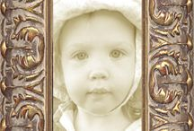 ornate picture frames / when you're looking for something beyond ordinary . . .
