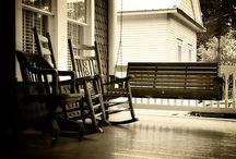 I love verandas (aka the front porch) / by Tina Malone