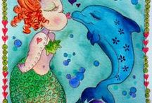 Mermaids / *the original designs are not mine