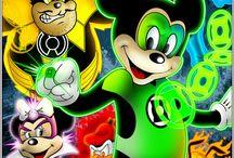 Mickey Mouse superheroe