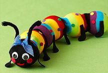 Insect Crafts / by Karen Langill