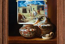 Indian Market / Reception at McLarry Fine Art for Chuck Sabatino to be held August 16, 5-7 pm