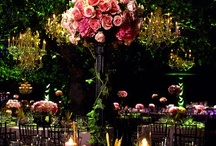 Midsummers Night's Dream / Magic spun from fashion, lighting and decor inspired by Midsummer Night's Dream for a gala, wedding or gathering.
