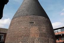 May brooch inspiration / Chimneys and rooftops