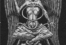 Baphomet & Satan 666