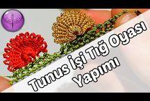 Tunus işi  iğne Oya'sı