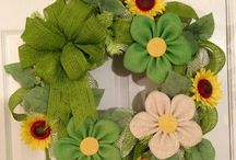 Wreaths and Banners / wreaths and banners