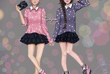 Lucia e Angela