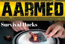 Survival Hacks / Get these off the grid hacks to thrive in a survival situation, while camping or while homesteading. Off the grid living is made simpler with these survival hacks