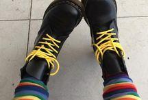 docs and socks <コ:彡