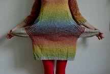 kjoler strikkede