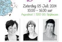 Noor Design - Dutch Doobadoo / Demonstraties van Noor Design en Dutch Doobadoo bij Doe@ding op zaterdag 5 juli 2014.
