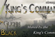 King's Command / Mated by the King's Command... new Erotic, Paranormal, Shifter, Fantasy, M/M, Romance series by Stormy Glenn & Olivia Black