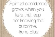 Spirituality / For the woman who wants to build her spiritual confidence & live life with more peace & ease.