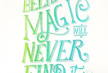 Magic Needles / It's happening! I'll always be Magic where ever I go. / by Amber Pickél
